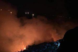 Cháy lớn ở bán đảo Sơn Trà
