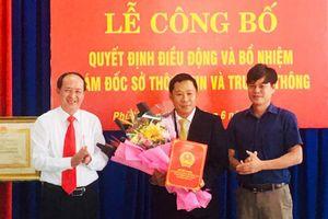 Nhân sự mới tại Đà Nẵng, Tây Ninh, Phú Yên, Tiền Giang