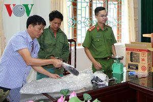 Công an Lai Châu bắt 3 đối tượng, thu giữ gần 5kg nhựa thuốc phiện