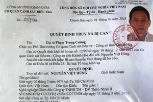 Bàn giao 4 đối tượng có lệnh truy nã đặc biệt cho công an Trung Quốc