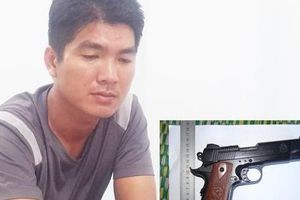 Quảng Ngãi: Mua súng đi cướp để trả nợ