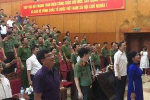 Đến làm việc ở Bộ Y tế, Đại tướng Tô Lâm bất ngờ vì được mời…tập thể dục