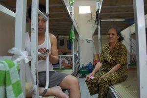 Khu nhà trọ giá rẻ trong Bệnh viện Việt Đức