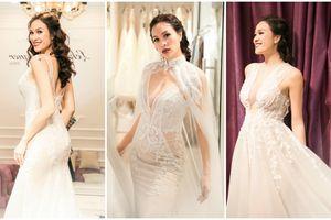 Hé lộ trang phục cưới của siêu mẫu Phương Mai