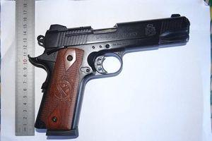 Quảng Ngãi: Bắt đối tượng dùng súng cướp tài sản