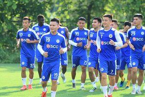 Rèn quân trong nhiệt độ gần 40 độ C, Hà Nội FC quyết tâm đánh bại Sài Gòn