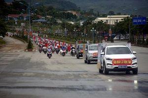 LĐLĐ tỉnh Lai Châu mít tinh phòng, chống ma túy năm 2019