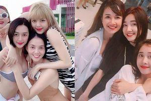 4 chị em nhà 'bạn gái Sơn Tùng' khoe sắc vóc 'đánh bật' 3 chị em Nhã Phương