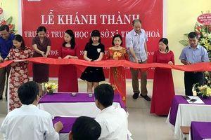PV GAS khánh thành công trình trường THCS Trung Hòa Hưng Yên