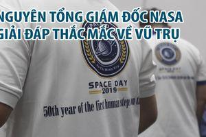 Phi hành gia 4 lần bay vào vũ trụ xuất hiện tại TP.HCM
