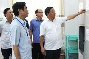 Bí thư tỉnh ủy Hà Tĩnh kiểm tra các điểm thi THPT Quốc gia 2019
