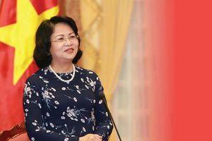 Phó Chủ tịch nước Đặng Thị Ngọc Thịnh sắp dự Hội nghị CICA