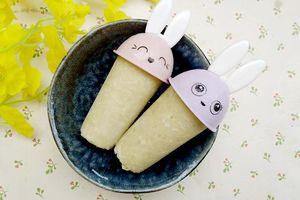 Làm kem dừa khoai lang ngọt thanh, thơm mát 'đánh bay' nắng nóng