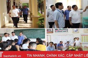 Hà Tĩnh không chủ quan sau sai sót về thi cử ở một số tỉnh phía Bắc
