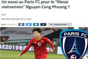 Báo Pháp nói gì về việc Công Phượng sang Pháp thử việc?