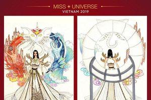 Xuất hiện mẫu thiết kế của cựu thí sinh Top 5 National Costume mùa trước hot hơn cả 'Sơn Tinh - Thủy Tinh'