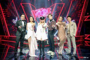 HOT: Dàn HLV Giọng hát Việt nhí 2019 lần đầu hội ngộ ngày ghi hình vòng thi Giấu mặt