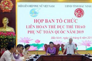 20-21/6: Liên hoan Thể dục Thể thao Phụ nữ toàn quốc năm 2019 tại Bắc Ninh