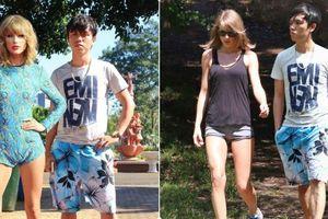 Sự thật đằng sau bộ ảnh 'Kỉ niệm 2 năm yêu nhau' cùng Taylor Swift của chàng trai người Việt