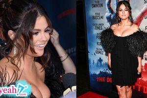 Selena Gomez bị 'ngải heo' nhập, thân hình phát tướng trông thấy nhưng vòng 1 o ép mới là điều gây chú ý