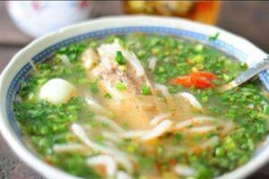 Đề cử Top đặc sản Việt Nam 2019: Cháo cá Vạt giường của Quảng Trị