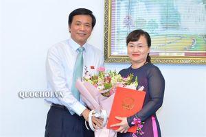 Văn phòng Quốc hội có nữ Phó Chủ nhiệm mới