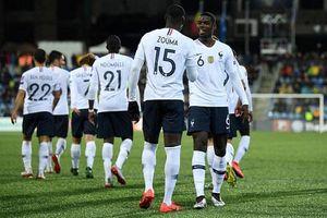 Chùm ảnh VL EURO 2020: Pháp thắng nhàn, Lukaku ghi cú đúp cho Bỉ