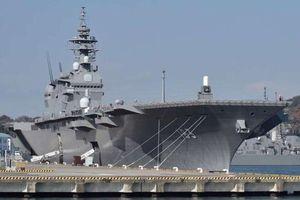 Báo Nhật: Tàu sân bay JS Izumo sẽ thăm Việt Nam trong tháng 6