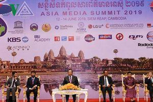 Khai mạc Hội nghị Thượng đỉnh Truyền thông Châu Á 2019