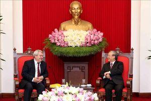 Củng cố mối quan hệ hữu nghị truyền thống và hợp tác giữa Việt Nam và Czech