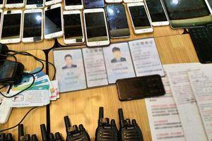 Tạm giữ 20 đối tượng người nước ngoài sử dụng công nghệ cao để lừa đảo