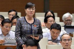 ĐBQH Nguyễn Thị Quyết Tâm xót xa: 'Có nhiều công nhân cả chục năm không về thăm gia đình'
