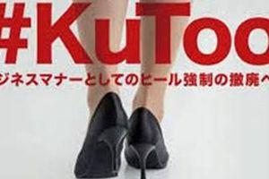 Nhật Bản: Phản đối việc bắt buộc đi giày cao gót nơi công sở