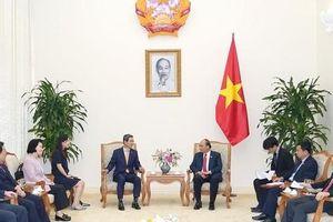 Thủ tướng tiếp Chủ tịch Nhóm Nghị sĩ hữu nghị Hàn - Việt