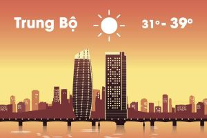 Thời tiết ngày 13/6: Bắc Bộ mưa, Trung Bộ nắng nóng gay gắt