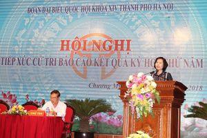 Lịch tiếp xúc cử tri sau Kỳ họp thứ 7, Quốc hội khóa XIV của Đoàn đại biểu Quốc hội TP Hà Nội
