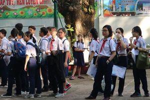 TPHCM: Công bố điểm chuẩn lớp 10 trường Lê Hồng Phong, Trần Đại Nghĩa