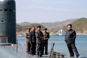 Kim Jong-un đang bí mật đóng tàu ngầm tên lửa đạn đạo?