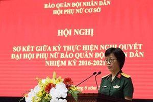Hội phụ nữ Báo Quân đội nhân dân sơ kết giữa kỳ