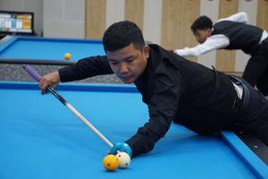 Nguyễn Đức Anh Chiến lần đầu tiên đăng quang giải Billiards Carom 3 băng vô địch quốc gia