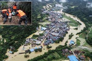 Lũ lụt hoành hành Trung Quốc, hàng chục người chết