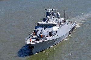Nhà máy đóng Gepard cho Việt Nam hạ thủy tàu chiến mới