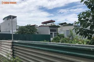 Công trình trái phép trên đất nông nghiệp phường Định Công: Trách nhiệm lãnh đạo ở đâu?