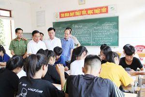 Hà Tĩnh: Tuyệt đối không chủ quan trong Kỳ thi THPT quốc gia