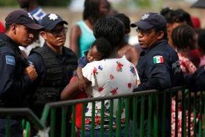 Mexico bắt đầu cử quân đội quốc gia tới biên giới phía Nam