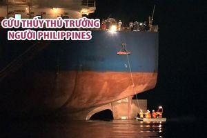 Cứu thủy thủ trưởng người Philippines bị dập nát bàn tay trên vùng biển Đà Nẵng