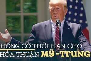 Tổng thống Trump: 'Nhiều công ty đang rời Trung Quốc'