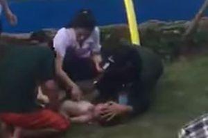 Vừa đi vào hoạt động, công viên nước Thanh Hà đã có trẻ bị đuối nước