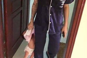 Công an Bắc Ninh thông tin vụ người phụ nữ xách cháu bé mới sinh