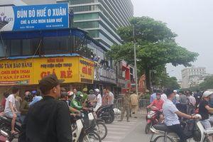 Hà Nội cưỡng chế công trình sai phạm trên đường Xã Đàn